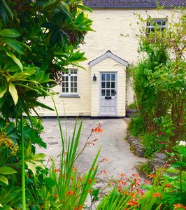 Photo for Chorister's Cottage, quiet location in Mevagissey, sleeps 6, garden & parking,