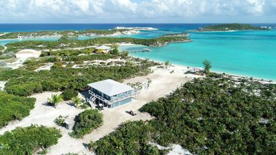 Photo for New! Private Beach Front Home in Paradise close to World Famous Swimming Pigs