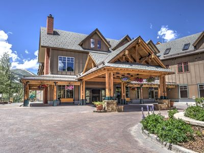 Photo for LUCKY LOCATION ~  SKI-IN/SKI-OUT @  MAIN ST. STATION~ MAGICAL VIEWS~HEATED POOL