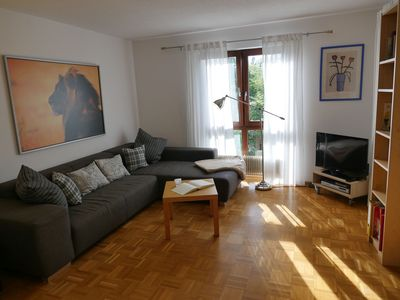 Photo for Apartment 64 m², 1 bedroom, 1 living room/bedroom, max. 4 people + 1 baby