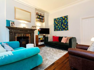 Photo for Cosy and welcoming home in Hampstead with a garden perfect for families (Veeve)