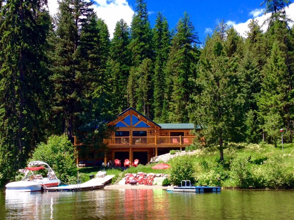 Beautiful Lakefront Cabin On Lake Inez Seeley Lake