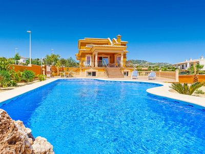 Photo for Villa Buenavista - This spacious villa has a large private pool, WI-FI & a BBQ