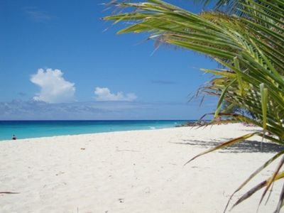 Photo for Studio apartment ocean / beach view Barbados. AC or Fan use. Saint Lawrence Gap