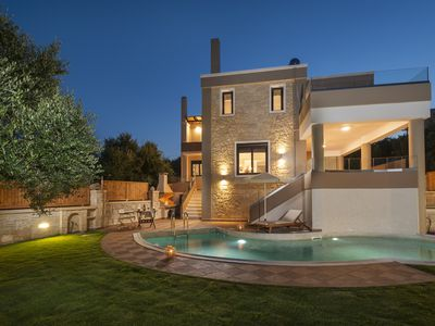 Photo for Dsk Villas-Villa Dimitrios, free charge heated pool for May!