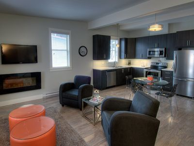 Photo for Fully furnished large one bedroom apartment in the midst of historic downtown.