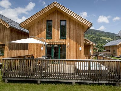 Photo for Modern Wooden Chalet in Sankt Georgen ob Murau with Hot Tub