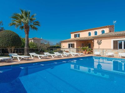Photo for YourHouse Can Marçal - chalet with private pool and tennis court near Palma