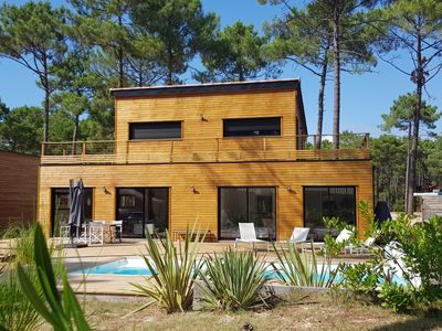 Photo for House Wood MAUBUISSON quiet in the forest 8 people with heated pool