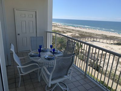 Photo for ** Newly Decorated ** Gulf Front Condo, 2 bed/2 bath in Beach Club Resort