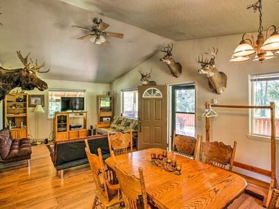 Photo for NEW! St. Maries Waterfront Home w/Deck on 3 Acres!