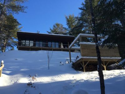 Photo for Chalet DesignPur SPA on the lake