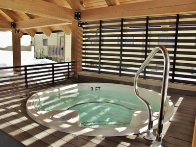 A second year round hot tub