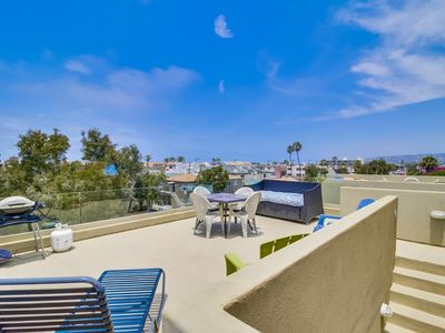 Photo for Newly Built 3-Story Beach Home w/ Roof Top Deck!