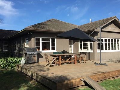 Photo for Stylish Motueka Bungalow - private and near town