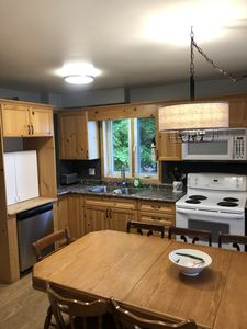 Family Sized Eat-In Kitchen area with all the conveniences