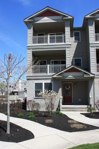 Photo for 4BR/3.5BA Townhome with Garage, 3 Balconies, Wireless Internet & Pool