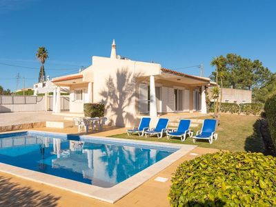 Photo for Villa Costa is a cosy, modern 2 Bed villa 500m from beach, AC and private pool