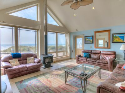 Photo for Oceanfront Home with Sandy Beach Right Out Your Door! Free Night!