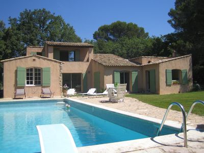Photo for VERY BEAUTIFUL HOUSE with south facing garden near Aix en Provence