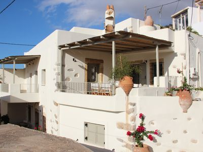 Photo for 19th century boutique house in Crete with stunning views