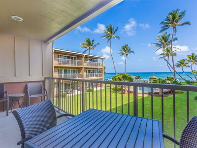 Photo for 3 Bedroom Ocean View Kapaa Condo with Pool (208-3)