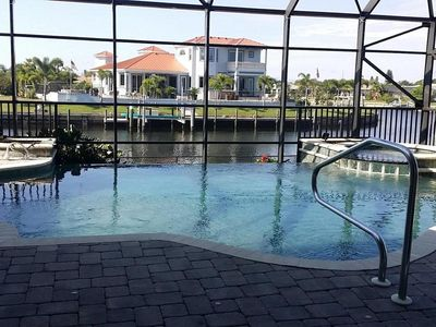 Photo for Fun House 5 bedroom waterfront home - pool & dock