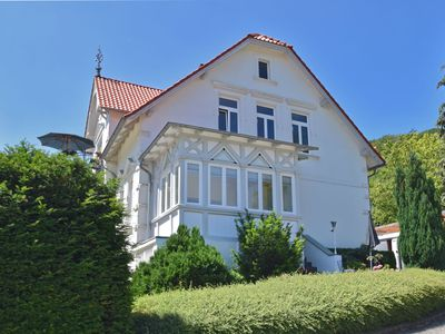 Photo for Bright ground floor apartment in Blankenburg in the Harz Mountains with wood stove and library