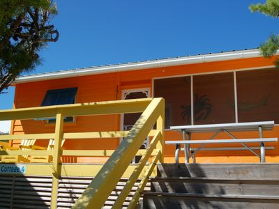 Photo for 2 Bedroom Cottage Just Steps to the Boardwalk leading to Sugary Sand Beach and Beautiful Gulf Water