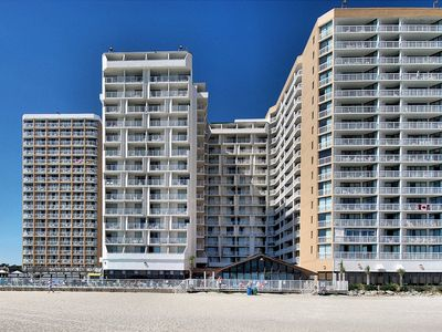 Photo for Sands Ocean Club RARE 3 bedroom/ 3 bathroom OCEANFRONT condo