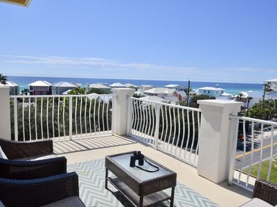 Photo for Awesome Views! END unit 4BR, 4BA Thome/200 steps to beach/dining/shops