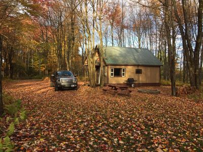Cozy Cabin - North Osceola, NY, Camping, Relaxing, Hunting, Fishing, Woods