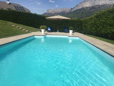 Photo for House with pool near Annecy and 5 minutes from the lake