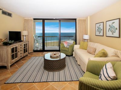 Photo for OCEANFRONT Condo in Sea Colony Resort | Private Beach | Updated & Clean