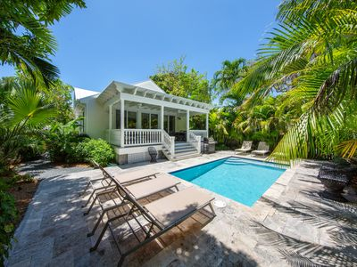 "Photo for ~ VILLA JOSINE ~ Luxurious ""Old Town"" Home w/ 18'Heated Pool & Parking!"