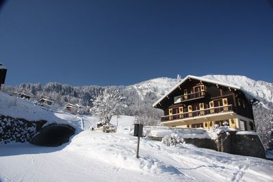 Chalet on the piste