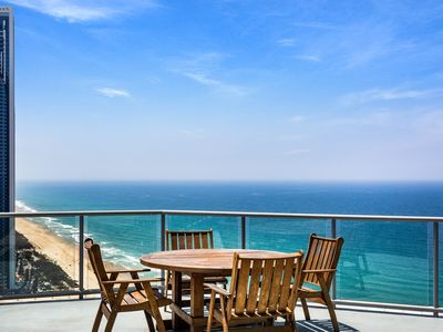 Photo for PENINSULA 40TH FL OCEAN VIEW 3 BDRM SUB PENTHOUSE