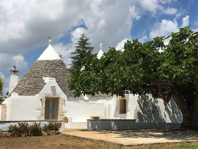 Photo for Stunning Trullo near Martina Franca recently renovated and fantastic country views