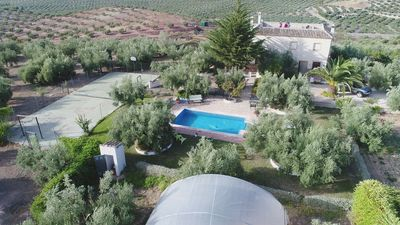 Photo for APARTMENT IN ECOLOGICAL AGROTURISMO PLACED IN THE GEOGRAPHICAL CENTER OF IDEAL ANDALUSIA FOR EXCURSIONS FOR ANDALUSIA