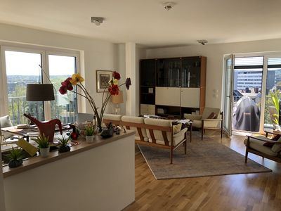 Photo for room with bathroom and balcony with panoramic views near rwth, quiet