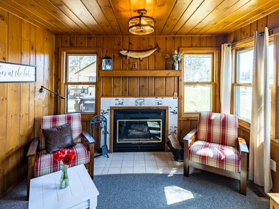 Photo for Adorable Big St. Germain Lake Cabin W/ Private Dock