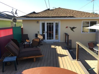 Photo for Westside Is The Bestside - Hot Tub & Large Sunny Yard - Close To Beach And Town.