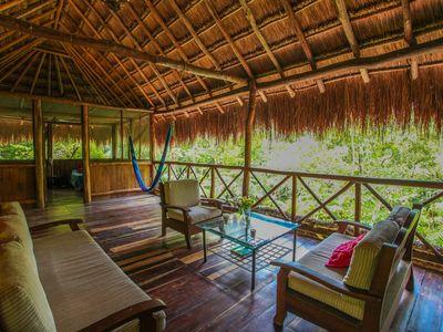 Photo for Akumal, Beautiful Palapa in the jungle