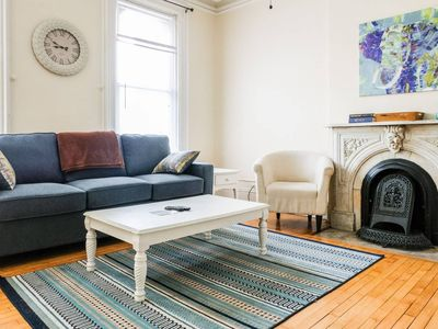 Photo for Sunny 1BR w/ Patio | Historic Home | Walk to Lake