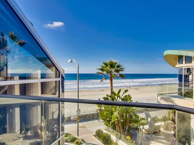 Photo for Ocean Front Penthouse-Incredible views w/ outdoor living area