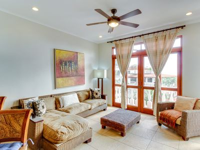 Photo for Resort condo with ocean views and shared pool access near the beach