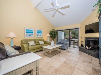 Photo for 2 Turtle Lane, 3 Bedrooms, Canal View, Pool Access, Beach Access, Sleeps 6: 3 BR / 3 BA condo in Hilton Head Island, Sleeps 6