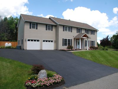 Photo for Adirondack Colonial, Spacious & Elegant, PRIVATE MINI GOLF COURSE SUMMER OF 2019