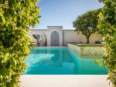 Photo for Design Palazzo near Otranto with garden and pool walking distance to the center