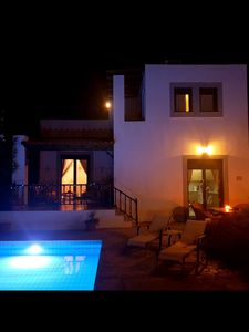 Photo for Villa Romantikos with private pool near Lindos close to beach